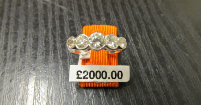 25% off New Diamond Rings ends Saturday 30 September